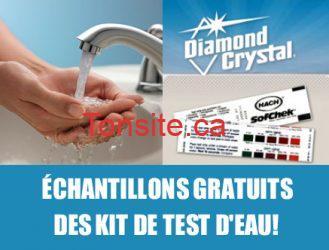 Échantillons gratuits des kit de test d'eau!!