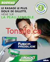 Coupon rabais gratuit pour un produit de pré-rasage Gillette !!