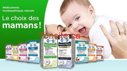 0 9enfants - Nouveaux coupons rabais a imprimer sur les produits naturels Enfants 0-9!