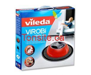 4023103156524 - Coupon rabais de 5 $ sur un balai-robot ViROBi de Vileda !