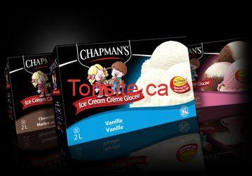 Chapmans coupon - Coupon 5$ pour les desserts surgelés de Chapman's