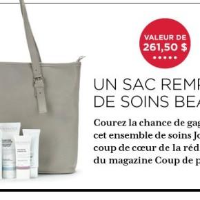 Jouviance 290x290 - Concours Coup de Pouce : gagnez un sac rempli de soins de beauté Jouviance!