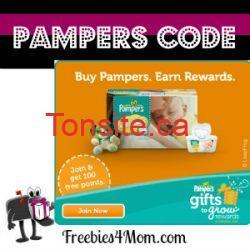 Pampers code - Nouveau code Pampers de 10 points!