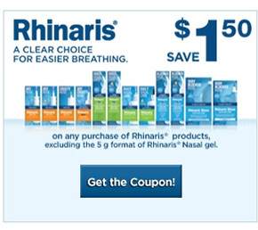 Rhinaris Printable Coupon for 1.50 off  290x258 - Coupon rabais imprimable Rhinaris de 1,50$!
