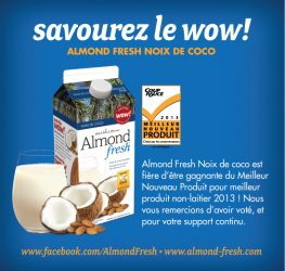 almond fresh - Coupon de 1$ sur les boissons Earthsown Almond Fresh!