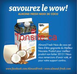 almond fresh - Coupon de 1$ sur les boissons Earthsown Almond Fresh!