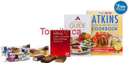 barres atkins - Obtenez 3 barres d'Atkins GRATUITEMENT!