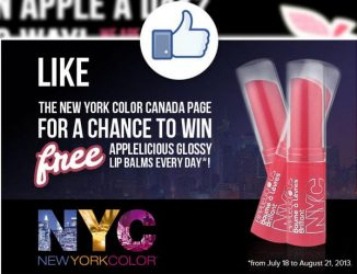 baumes - Recevez des échantillons GRATUITS de baumes à lèvres NYC COLOR