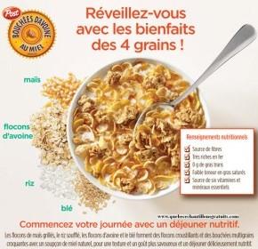 cereales 290x280 - Céréales Bouchées d'avoine au miel à 0,99$ après coupon!