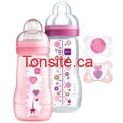 coffret baby basic rose  - Coupon rabais imprimable pour les produits Mam baby!
