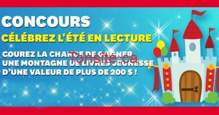 concours archambault ete570 - Gagnez des livres jeunesse !