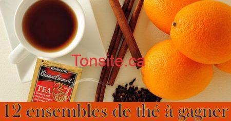 concours bigalow the 570 - Gagnez un des 12 ensembles de thé Bigelow !