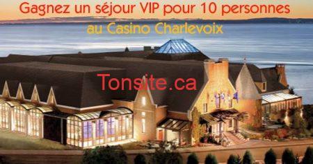 concours casino charlevoix 570 - Gagnez un super week-end au Casino Charlevoix