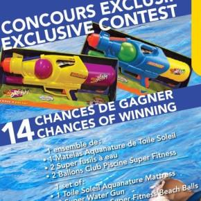 concours club piscine 290x290 - Concours Club Piscine : gagnez un ensemble de jouets de piscine!
