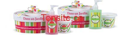 concours coffrets cg - Dans un Jardin: Gagner l'un des 5 coffrets « Crème Glacée » !