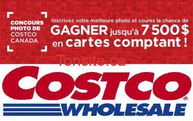 concours costco - Concours Costco : gagnez jusqu'à 7 500$ en cartes comptant!