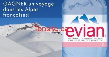 concours evian alpes 570 - Concours Evian : Gagnez un voyage dans les Alpes!
