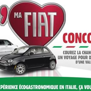concours fiat 290x290 - Concours Fiat : gagnez un voyage en Italie !
