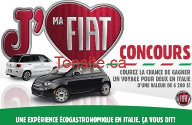 concours fiat - Concours Fiat : gagnez un voyage en Italie !