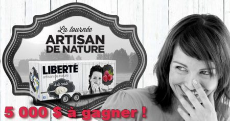 concours liberte artisan 570 - Gagnez 5 000 $ avec le yogourt Liberté