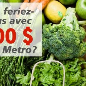 concours metro 500 290x290 - Concours Metro : gagnez une carte-cadeau de 500$!
