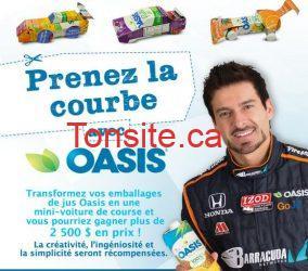 concours oasis - Concours Oasis : gagnez plus de 2 500$ en prix!!