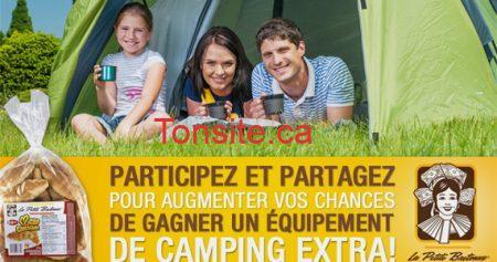 concours peite bretonne 570 - Gagnez un ensemble de camping !
