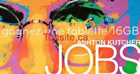 concours tablette jobs 570 - Concours Vtélé + Remstar: Gagnez une tablette 16GB