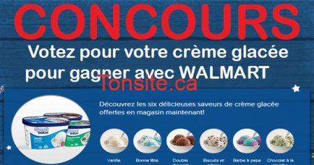 concours walmart creme glacee 570 - Concours Waltmart: votez pour votre crème glacée et gagner une carte cadeau de 200$