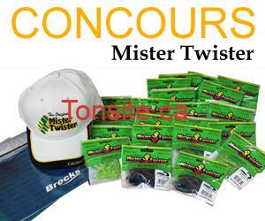 concoursMisterT - Gagner un assortiment de leurres réputés Mister Twister !