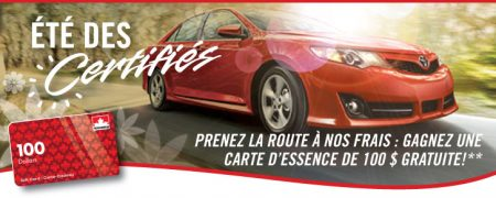 contest banner p1 fr - Ganger une carte-cadeau Petro-Canada de 100 $ !