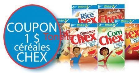 coupon cereales chex 570 - Nouveau coupon pour céréales Chex !