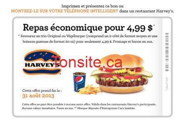 coupon HARVEYS - Plusieurs coupons Harvey's à imprimer! Valides jusqu'au 31 Aout 2013