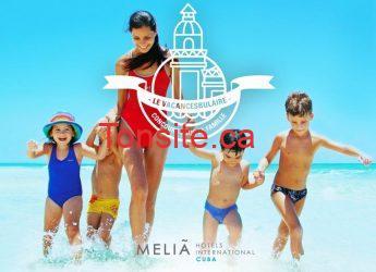 cuba melia - Gagner un superbe voyage à Cuba pour 4 personnes!