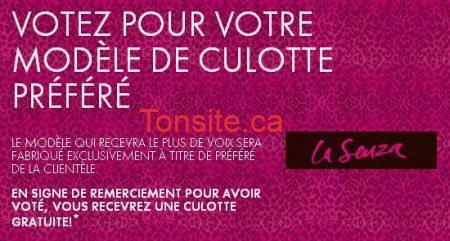 culotte lasenza - Culotte GRATUITE chez La Senza!