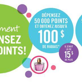 depensez 290x290 - Ce Weekend: Promotion Dépensez vos Points chez Pharmaprix!