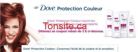 dove protection couleur - Dove protection couleur gratuit aprés coupon!