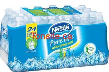 eau nestle - Coupon rabais de 1$ sur les bouteilles d'eau Nestlé!