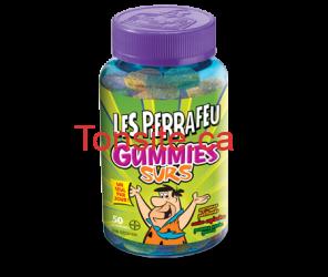 flintstones gummies sour large fr - Coupon rabais de 1 $ à l'achat d'un flacon de multivitamines LES PIERRAFEU !