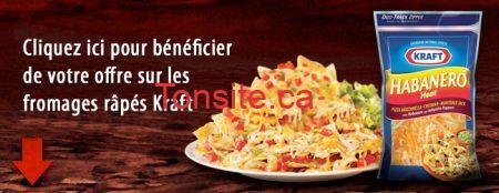 habanero coupon rabais a imprimer - Coupon rabais de 1$ sur le fromage Habanero de Kraft !