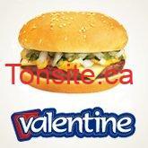 hamburger valentine - Obtenez 1 hamburger gratuit à l'achat d'une poutine!