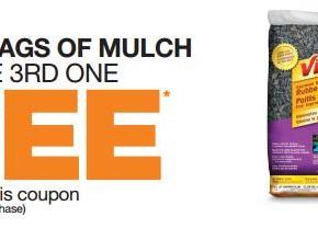 homedepot coupon 290x219 - Acheter 2 sacs de paillis et obtenir un troisième gratuitement chez Home Dépôt !