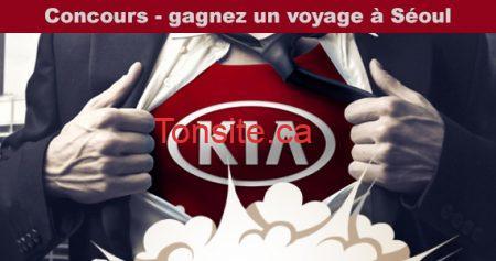 kia concours - Concours KIA: Gagnez un voyage en Corée du Sud