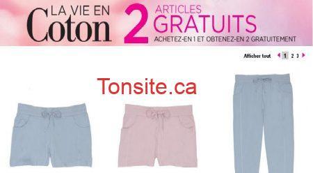 la vie en rose - Promotion B2G2 sur les articles en coton chez La Vie en Rose!