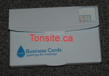 moo1 - Obtenez 10 Cartes d'affaires gratuitement!