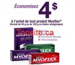myoflex - Myoflex à 0,97$ après le remboursement postal!
