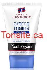 neutrogena - Crèmes pour les mains de Neutrogena gratuite après coupon!