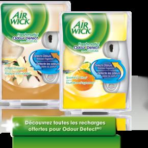 news Odour Detect Max 290x290 -  Achetez-en 1, obtenez-en 1 GRATUITEMENT* à l'achat de tout produit Air WickMD FreshmaticMD Compact!