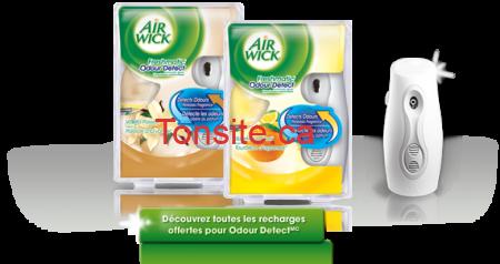 news Odour Detect Max -  Achetez-en 1, obtenez-en 1 GRATUITEMENT* à l'achat de tout produit Air WickMD FreshmaticMD Compact!