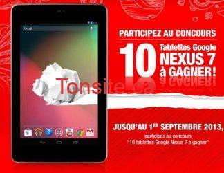 nexus7 - Concours Buro Plus : gagnez une tablette Google Nexus7!!
